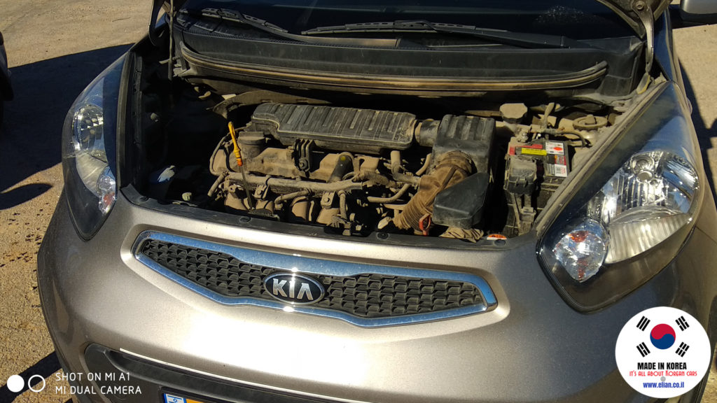 Kia Picanto Morning 2013 G4LA 1250 Engine