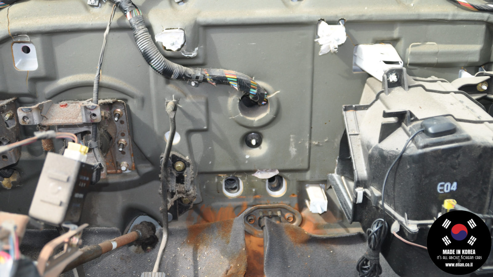 (Hyundai Getz) 972001C000 Heater unit